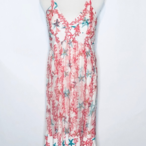 Letarte Dresses & Skirts - NWT LeTarte Swimwear Starfish Short Dress m